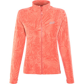 Jack Wolfskin Kiruna Jungle Veste Femme, tulip red all over